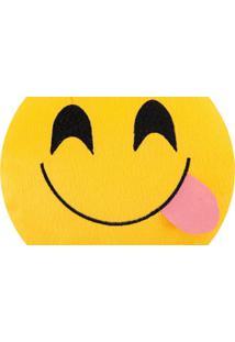 Almofada Capital Do Enxoval Emoji Delicia Estampado