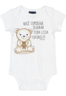 Body Para Bebês Em Ribana Branco