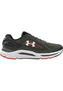 Tênis Masculino Under Armour Charged 634 Spread Corrida Verde - 39