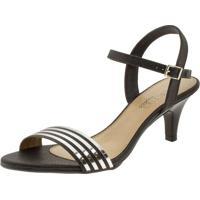 2ae6d39fd Sandália Cinza Salto Baixo feminina | Shoes4you