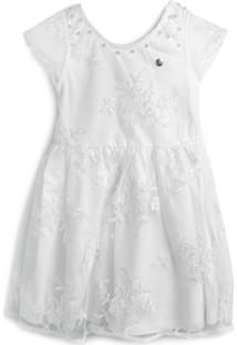 Vestido Milon Liso Branco