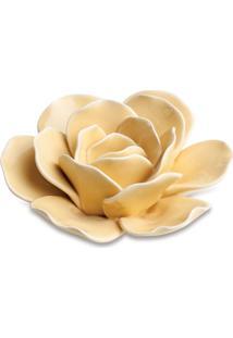 Planta Decorativa Flor Amarela 4X10 Cm