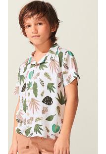 Camisa Infantil Menino Tropical Triya