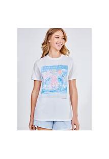 Camiseta Estampa Urso Colorido