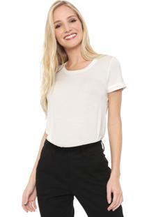 Camiseta Aleatory Básica Off-White