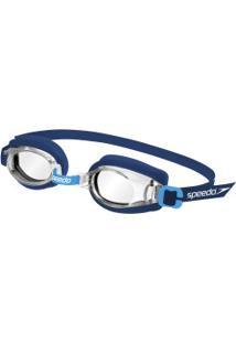 Óculos De Natação Speedo Captain - Infantil - Azul Escuro