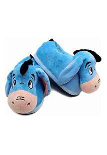 Pantufa Unisex Adulto Damannu Shoes Bisonho Ursinho Pooh