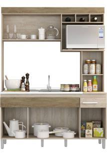 Cozinha Compacta Decibal Cv6010 Malbec/Wood Se