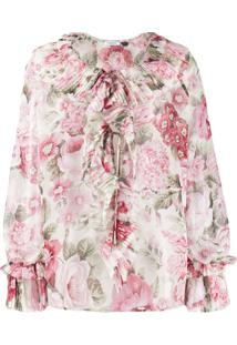 P.A.R.O.S.H. Blusa Com Estampa - Rosa