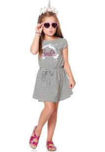 549d5833873cb0 Vestido Bege Fakini Kids Barbie Dreamtopia