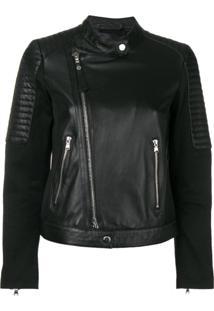 Emporio Armani Classic Biker Jacket - Preto