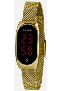 Relógio Lince Led Digital Ldg4641L Pxkx Feminino - Feminino