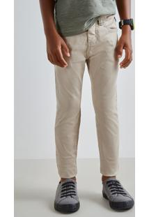 Calca Mini Pf Skinny Color Inv19 Reserva Mini Bege - Kanui