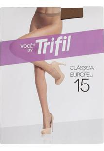 Meia-Calça Feminina Trifil Fio 15 Natural