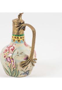 Jarra Decorativa De Porcelana Mazu