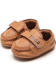 Sapato Tigor T. Tigre Menino Caramelo