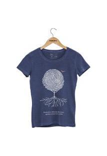 Camiseta Forseti Estonada Digital Azul