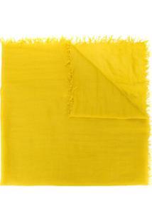 Aspesi Cachecol De Tricô - Amarelo