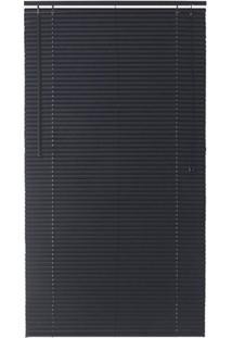 Persiana Horizontal Pvc Block 170X140Cm Preto