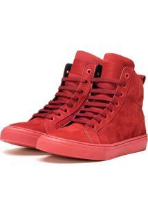 Tãªnis Sneaker K3 Fitness Snow Vermelho - Vermelho - Feminino - Dafiti