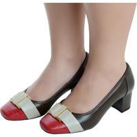 dbcf86b8d Dafiti. Sapato Fechado Laura Prado Confort ...