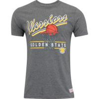 6e62cb811 Camiseta Mitchell   Ness Golden State Warriors Drive To The Ba - Masculina  - Cinza