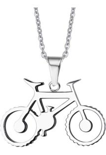 Colar Divanet Bicicleta Prata