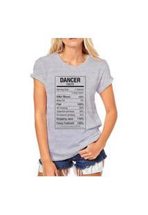 Camiseta Coolest Dancer Cinza