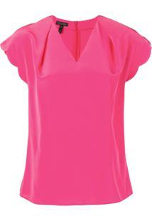 Escada Camiseta Decote Em V - Rosa