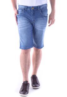 Bermuda 654 Jeans Slim Traymon Azul Indigo