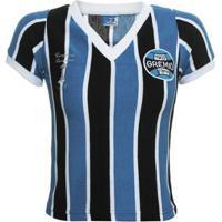 Camisa Retrô Grêmio 1983 Feminina - Feminino 482a67d1e1b89