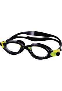 Óculos De Natação Tamanho Único Phanton Preto Cristal Speedo