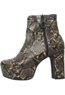 Bota Damannu Shoes Nancy Feminina - Feminino-Marrom