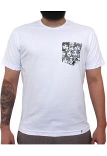 Multidão Pb - Camiseta Clássica Com Bolso Masculina