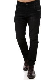 Calça Jeans Masculina Preto