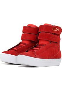 Tênis Sneaker K3 Fitness Fit Vermelho