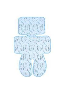 Capa Para Carrinho E Cadeirinha Papi Universal Carros Azul