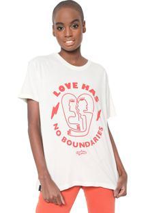 Camiseta Cantão No Boundaries Off-White