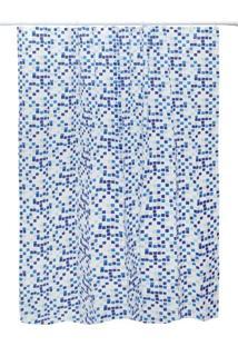 Cortina Para Box Eva Azul
