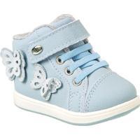 89b23cb1b Netshoes. Tênis Bebê Klin Mini Gloss Borboleta Feminino ...