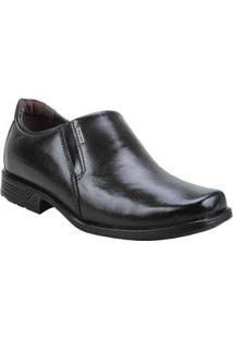 Sapato Social Pegada - Masculino-Preto