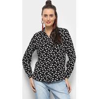 b35ff19f3 Zattini. Camisa Facinelli Floral Pequeno Feminina ...