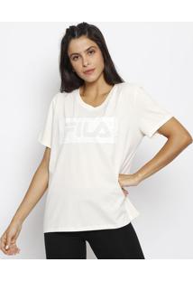 Camiseta Filaâ® - Off White & Brancafila