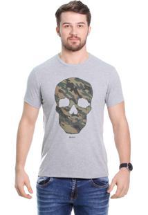 Camiseta Javali Mescla Caveira