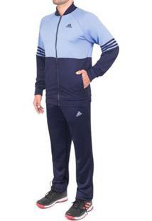 Agasalho Adidas Cozy Masculino - Masculino-Marinho