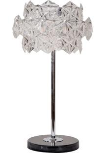 Abajur Decorativo De Cristal Maple
