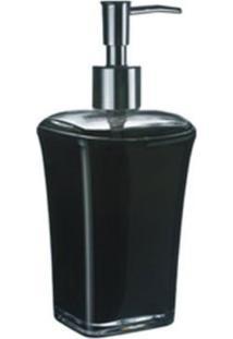 Porta Sabonete Liquido Acrílico Preto - Kos
