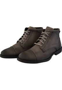 Bota Viteri Casual For You Cinza