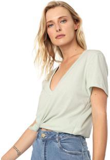 Camiseta Colcci Lisa Verde