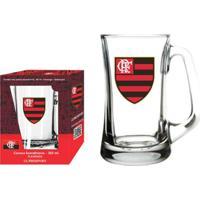 5846e46e01 Caneca Scandinavia Flamengo Logo - 355 Ml - Unissex